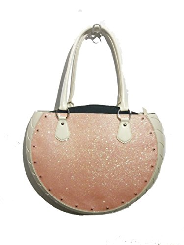 Tys Bag Space Pink in gomma ed ecopelle Made in Italy