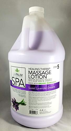 Lavender Massage Lotion - La Palm - Organic