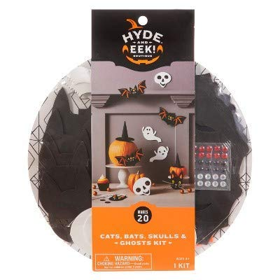 20pc Halloween Cat, Ghost, Bat Party Decorating Kit - Hyde and Eek! Boutique153 -