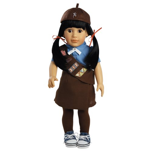 "Adora Play Doll Lily - Girl Scout Brownie 18"" Doll & Costume"