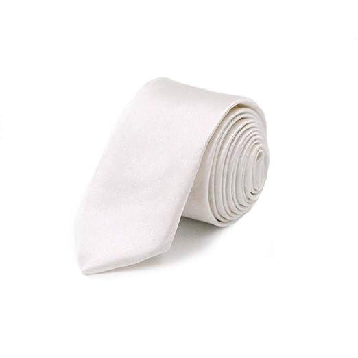 rbocot Corbata Para Hombres Corbata Delgada Corbata Color Sólido ...