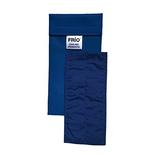 Frio Insulin Cooling Case, Reusable Evaporative Medication Cooler - Duo Wallet, Blue