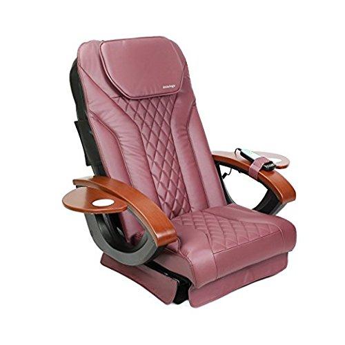 Shiatsulogic Pedicure Chair Cushion COVER NEW BURGUNDY Nail Salon Pedicure Furniture by MAYAKOBA