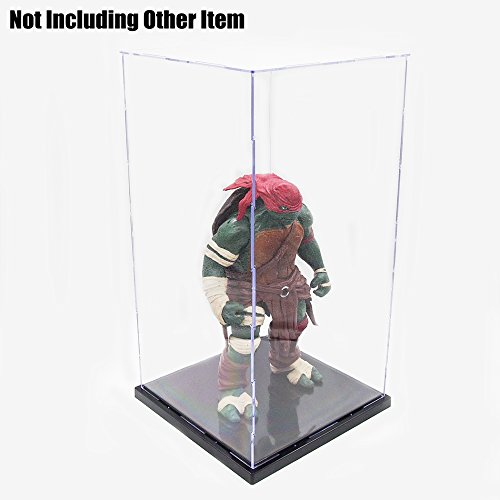 Tingacraft Acrylic Display Case/Box (8 x 8 x 15.7 inch) Self-Assembly Dustproof for 13