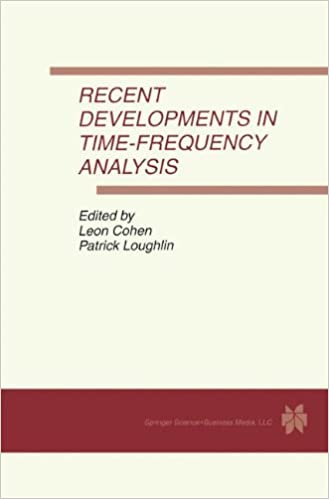 Recent Developments in Time-Frequency Analysis: Volume 9: A Special Issue of Multidimensional Systems and Signal Processing. An International Journal