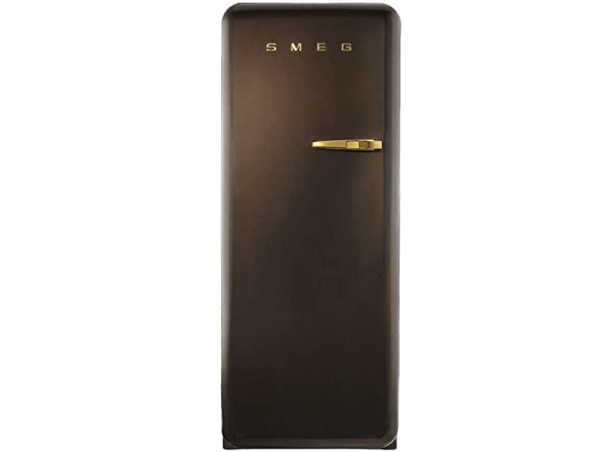 Smeg FAB28LCG1 - Nevera combi (Independiente, Chocolate, Izquierda ...
