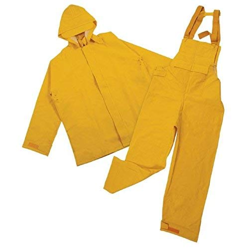 Stansport Commercial Rain Suit, Yellow, 4X-Large [並行輸入品] B07R3Y7K85