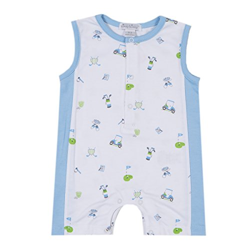 Kissy Kissy Baby-Boys Infant Daddy's Caddy Print Sleeveless Short Playsuit