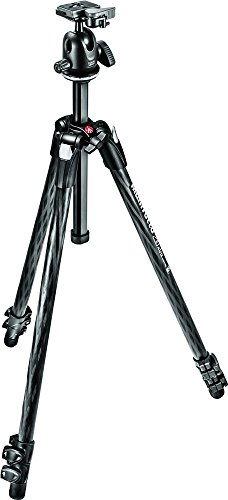 - Manfrotto 290 Xtra Carbon Fiber 3-Section Tripod Kit with Ball Head (MK290XTC3-BHUS)