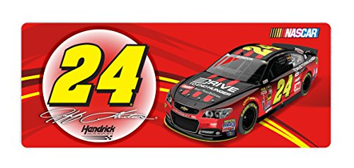 NASCAR #24 JEFF GORDON BUMPER STICKER-JEFF GORDON CAR BUMPER STICKER-NEWER STYLE