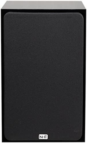 NHT SuperOne 2.1 2-Way Bookshelf Speaker, Single, Black