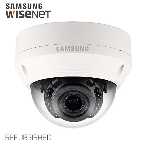 - Samsung IPolis Wisenet POE IP Network 1080P 1.3MP Vandal Dome Camera Security Surveillance Indoor Outdoor Camera SNV-L5083R for Home, Commercial Building Indoor and Outdoor (Manufacture Refurbished)