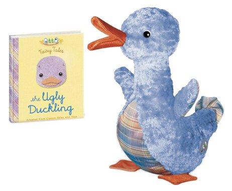 Yottoy Ugly Duckling mit Buch B000F8I57W Plüschtiere Lebendige Form | Spielzeugwelt, fröhlicher Ozean