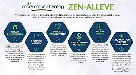 Amazon.com: Zen-Alleve – Alivio natural del dolor ...