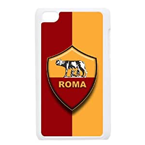 iPod Touch 4 Case White As Roma Logo JSK831064