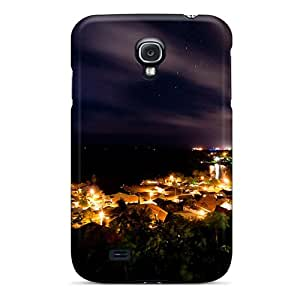 Ultra Slim Fit Hard MeSusges Case Cover Specially Made For Galaxy S4- Hawaiian Isls On A Beautiful Night