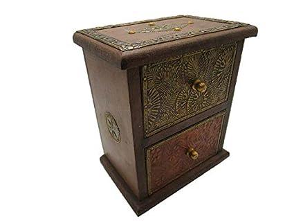 Regalo Casa de Tom pequeño Muebles – Cómoda cajones Caja Caja de Madera Cofre del Tesoro