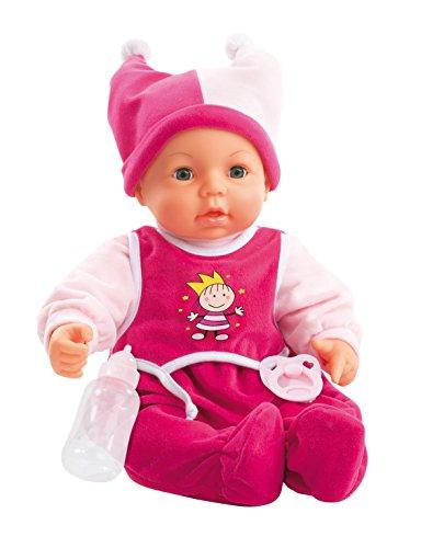 Bayer Design 9468200 - Funktionspuppe Hello Baby, 46 cm