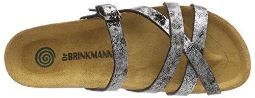 Dr. Brinkmann Damen 701117 Pantoletten Silber (Silber (92))