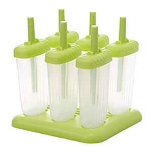 Reusable DIY Frozen Ice Cream Pop Molds Ice Lolly Makers-04