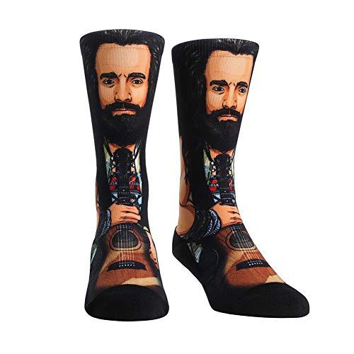 WWE Authentic Wear Elias Rock'Em Socks Multi 9-13 (Wwe 11)