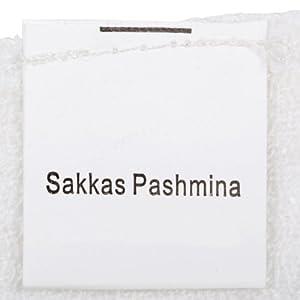 Sakkas 70″x 28″ Big Paisley Jacquard Woven Layered Pashmina scialle/stola dell'involucro