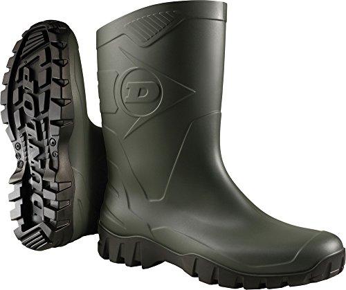 Dunlop Stivali Deed Verde/Nero Taglia 43