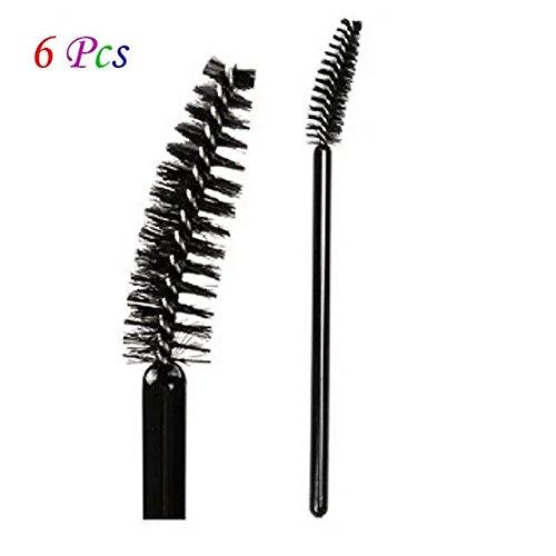 EYX Formula Professional Eye brow Brush Eyelash brush Replacement ,Black Spiral Eyebrow Brush Makeup Cosmetic Tool for Eyebrow