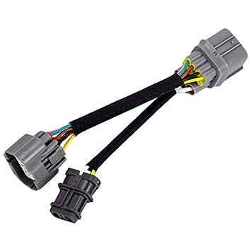 CUHAWUDBA Arnés del Motor Obd1 a 10-Pin Obd2 Distribuidor del ...