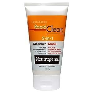 Neutrogena Rapid Clear 2-in-1 Cleanser Mask 150mL