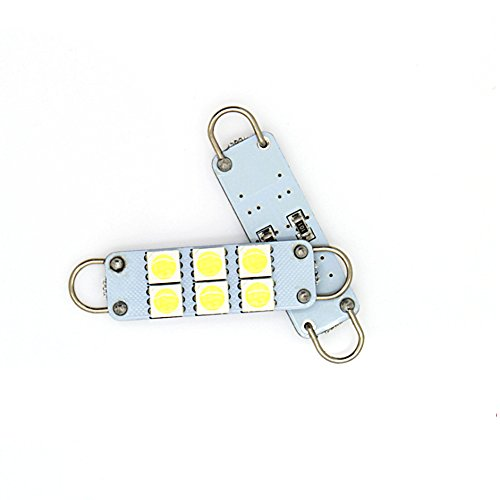Amazon Com Keyecu 10pcs White 44mm1 73 6smd 5050 Chip Rigid Loop