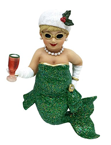 December Diamonds Mermaid Ornament - Miss Holly