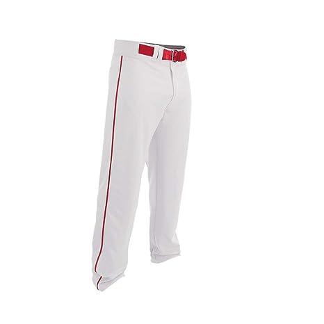 Adult Mens Piped Open Bottom Baseball Pants A167124 Easton Rival 2