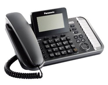 Panasonic KX-TG9582B + 1 KX-TGA950B Corded/Cordless Combination Telephone 2-Line DECT 6.0 System by Panasonic (Image #1)