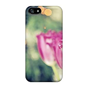High-quality Durable Protection Case For Iphone 5/5s(lights Tulips)