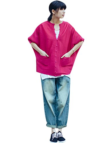 Harem Freddo Pantaloni Jeans Cotone Donna Youlee wRxHTq07q