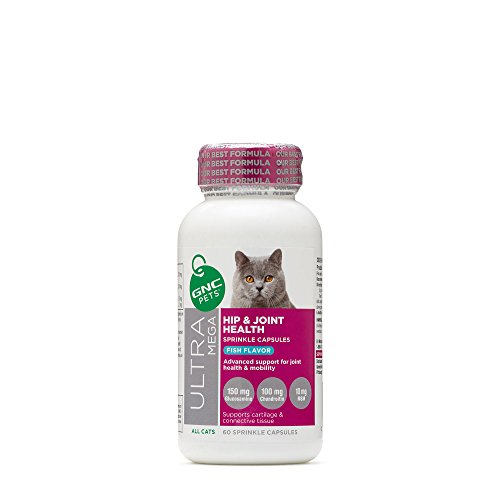 60 Sprinkle Capsules (Gnc Ultra Mega Hip & Joint for Cats 60 Capsules)