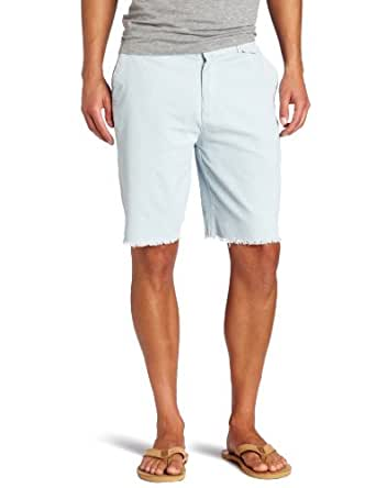 Threads 4 Thought Men's Cutoff Cord Short, Baby Blue, 29