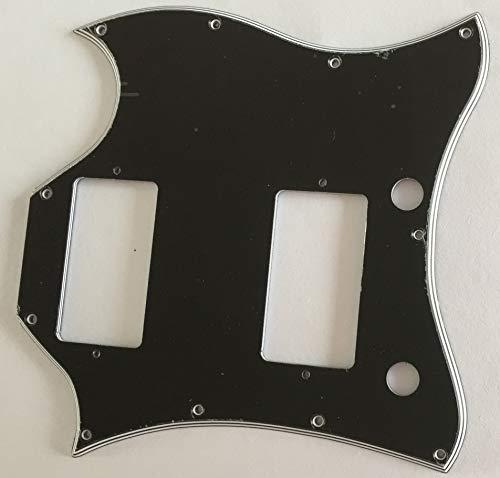 Custom Guitar Pickguard For US Gibson SG Standard Full Face (5 Ply Black)