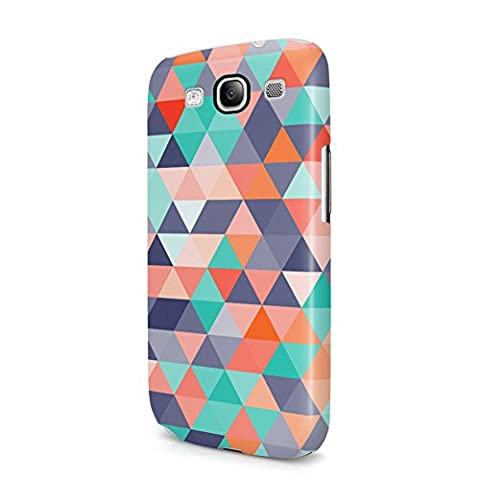 Native Aztec Triangles Tribal Mosaic Boho Pattern Samsung Galaxy S3 Plastic Phone Protective Case (Galaxy S3 Case Native)