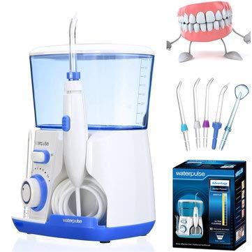 Waterpulse Health English Version of Superior Type Teeth Water Irrigation Jet Tooth Cleaner Dental Teeth Care - Bathroom Dental Care
