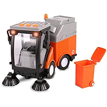 Amazon Com Toythrill Friction Powered Street Sweeper