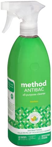 Method Antibacterial All Purpose Cleaner, Bamboo 28 Oz Pack of 2 best natural kitchen cleaning products