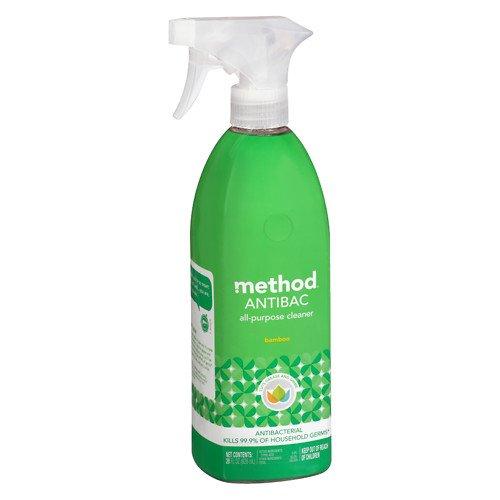 (method Antibacterial All Purpose Cleaner, Bamboo 28 oz Pack of 2)