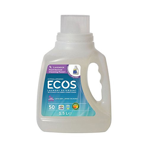 (Earth Friendly Products Ecos Liquid Laundry Detergent, Lavender, 50 Ounce)