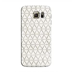 Cover It Up - Triangle Print Grey Galaxy S6 Hard Case