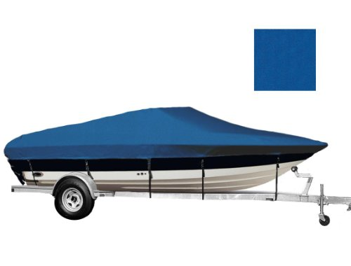 TL-SBU 6.25oz New Custom Exact FIT Boat Cover Boston Whaler 130 Sport Side Console O/B 2000-2006