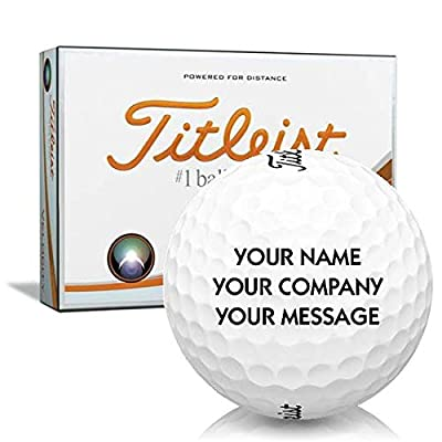 Titleist Velocity Personalized Golf Balls