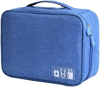 Bolsa Multifuncional Jelly Comb Electronics Organizador Bolsa de Viaje for Nintendo Switch/Switch Joy-con/Charger/Cables/Tablets/Memory Cards, etc. - Negro (Color : Azul, Size : M): Amazon.es: Equipaje