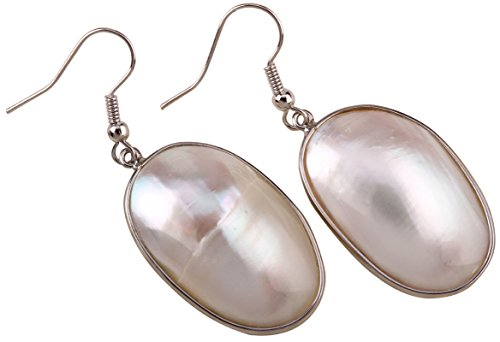 Angel Jewelry Women's White Shell Dangle